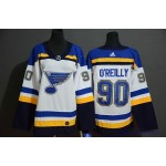 Youth St. Louis Blues #90 Ryan O'Reilly White Adidas Jersey
