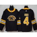 NHL Boston Bruins #4 Bobby Orr Black 3rd Inverted Legend adidas jersey