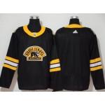 NHL Boston Bruins Blank Black 3rd Inverted Legend adidas jersey