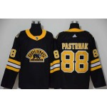 NHL Boston Bruins #88 David Pastrnak Black 3rd Inverted Legend adidas jersey