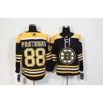NHL Boston Bruins #88 David Pastrnak Black adidas jersey