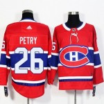 NHL Montreal Canadiens #26 Jeff Petry Red Adidas Jersey