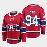 NHL Montreal Canadiens #94 Corey Perry Red Adidas Jersey