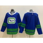 NHL Vancouver Canucks Blank Blue Third Adidas Jersey