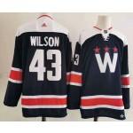 Men's Washington Capitals #43 Tom Wilson Navy New Third Adidas Jersey
