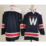 Men's Washington Capitals Blank Navy New Third Adidas Jersey