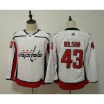 Women Washington Capitals #43 Tom Wilson White Adidas Jersey