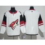 NHL Arizona Coyotes White adidas Jersey