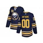 NHL Buffalo Sabres Adidas Blue Customized Jersey