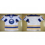 NHL Buffalo Sabres white throwback Customized Jersey