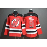 NHL New Jersey Devils #9 Taylor Hall Red Drift Fashion Adidas Jersey