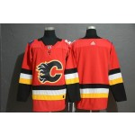 NHL Calgary Flames Red Drift Fashion Adidas Jersey