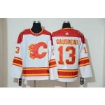 NHL Calgary Flames #13 Johnny Gaudreau White Adidas Reissue Jersey