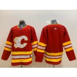 NHL Calgary Flames Blank Red Alternate Adidas Jersey