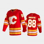 Men's Calgary Flames #88 Andrew Mangiapane Home Red 2020-21 Authentic Jersey