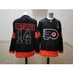 NHL Philadelphia Flyers #14 Sean Couturier Black New Adidas Jersey