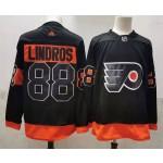 NHL Philadelphia Flyers #88 Eric Lindros Black New Adidas jersey