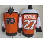 Men's Philadelphia Flyers #27 Ron Hextall 1997-98 Orange CCM Throwback Jersey