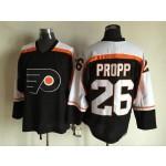 Men's Philadelphia Flyers #26 Brian Propp 1997-98 Black CCM Throwback Jersey