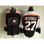Men's Philadelphia Flyers #27 Ron Hextall 1997-98 Black CCM Throwback Jersey