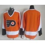 Men's Philadelphia Flyers Orange Throwback CCM Jersey