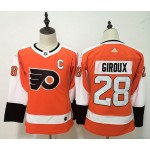 Youth Philadelphia Flyers #28 Claude Giroux Orang Adidas Jersey