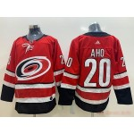 NHL Carolina Hurricanes #20 Sebastian Aho Red Adidas Jersey