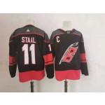NHL Carolina Hurricanes #11 Jordan Staal Black Adidas Jersey