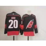NHL Carolina Hurricanes #20 Sebastian Aho Black Adidas Jersey