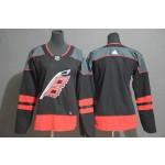 Women Carolina Hurricanes Black Adidas Jersey