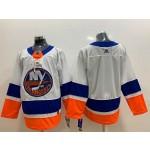 NHL New York Islanders Blank White Adidas Jersey