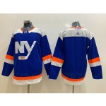 NHL New York Islanders Blank Blue Alternate Adidas Jersey