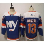 NHL New York Islanders #13 Mathew Barzal Blue Alternate Adidas Jersey