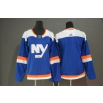 Women New York Islanders Blank Blue Alternate Adidas Jersey
