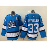 NHL Winnipeg Jets #33 Dustin Byfuglien Sky Blue Alternate Adidas Jersey