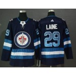 NHL Winnipeg Jets #29 Patrik Laine Navy Drift Fashion Adidas Jersey