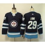 Women Winnipeg Jets #29 Patrik Laine Navy blue Adidas Jersey