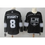 NHL Los Angeles Kings #8 Drew Doughty Black Adidas Jersey