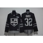 NHL Los Angeles Kings #32 Jonathan Quick Black 100th Centennal Classic Jersey