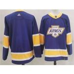 NHL Kings Blank Purple 2020-21 Reverse Retro Adidas Jersey