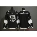 Women Los Angeles Kings Blank Black Adidas Jersey