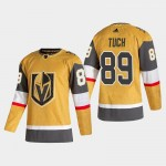 Men's Vegas Golden Knights #89 Alex Tuch Gold 2020-21 Alternate Adidas Player Jersey