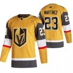 Men's Vegas Golden Knights #23 Alec Martinez 2020-21 Gold Alternate Adidas Jersey