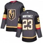 Men's Vegas Golden Knights #23 Alec Martinez Gray Home Adidas Jersey