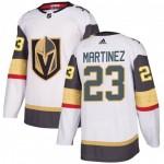 Men's Vegas Golden Knights #23 Alec Martinez White Away Adidas Jersey
