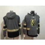 NHL Vegas Golden Knights Blank Grey All Stitched Hooded Sweatshirt