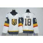 Youth Vegas Golden Knights #18 James Neal White Adidas Jersey