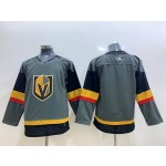 Youth Vegas Golden Knights Blank Grey Adidas Jersey