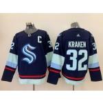NHL Seattle Kraken #32 KRAKEN Blue Adidas Jersey
