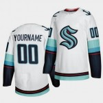 NHL Seattle Kraken Custom White Adidas Jersey(Name and number remark in comment column)